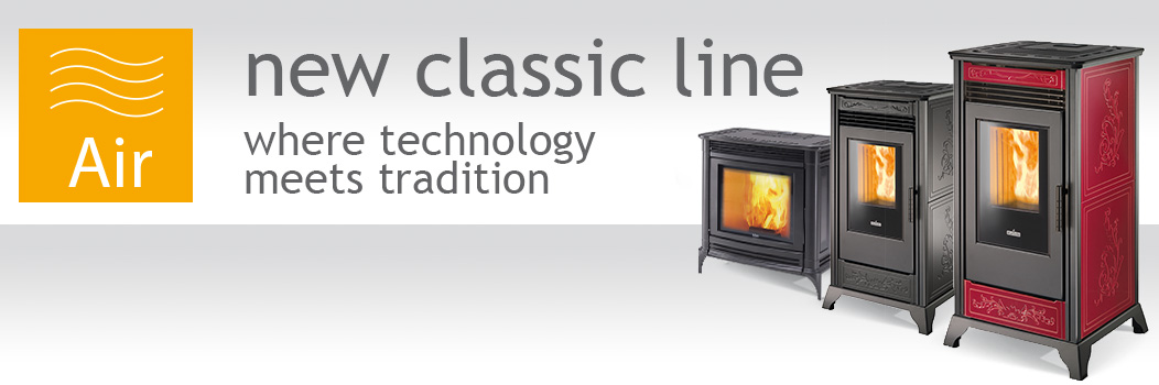 Ravelli ventilated stoves